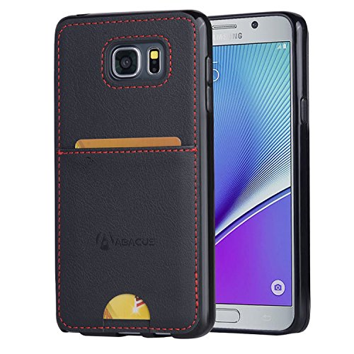 Slim Shockproof Case for Samsung Note 5 (Black) - 3