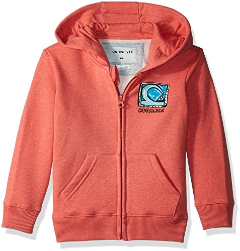 (Quiksilver Boys' Foamie Nights Hoody Kids, Mineral red Heather, 5)