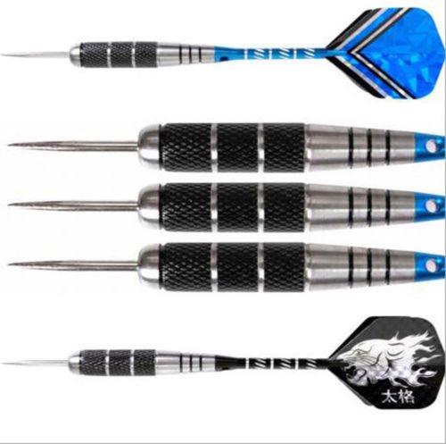 Price comparison product image NewTabShop(TM) 6 Pcs Steel Tip Darts Tungsten Barrel Aluminium Shafts Professional Dart