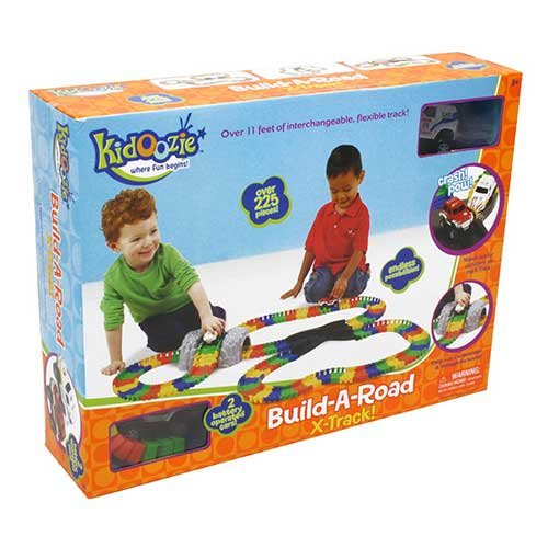 kidoozie build a road instructions