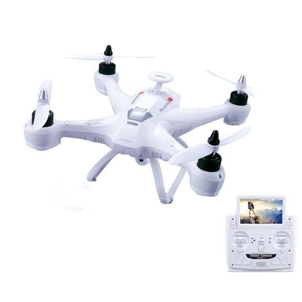 Tiean X181 5.8G FPV 2MP Camera Drone RC Quadcopter Headless Helicopter (White) by Tiean