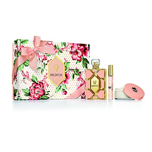 (Wildfox Women's Perfume 3 Piece Value Gift Set,  includes 3.4 fl. Oz perfume spray, 3 oz. body lotion frosting, and .33 fl. Oz. perfume rollerball)