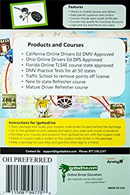 California DMV Approved Online Driver Education Preferred Package with Practice Tests