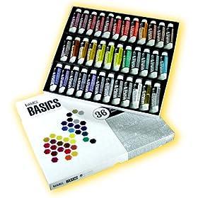 Liquitex Basics Acrylics Set of 36 Colors