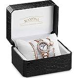 MAMONA Women's Watch Bracelet Gift Set...
