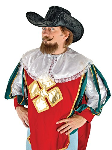 UHC Men's Musketeer Mexican Prop Theme Halloween Costume Hat (Mexican Ladies Costume)