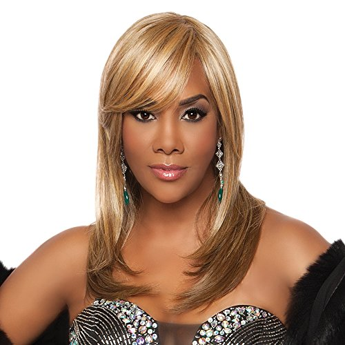 Vivica A. Fox WP-LINDSAY-V New Futura Fiber, Weave Cap in Color GM236 ()
