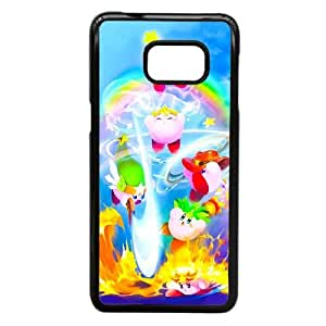 Kirby caso Z6O12G9YM funda Samsung Galaxy S6 Edge Plus funda 7PC8I7 negro