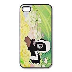 iphone4 4s Phone Case Black Bambi Flower CYL8678452