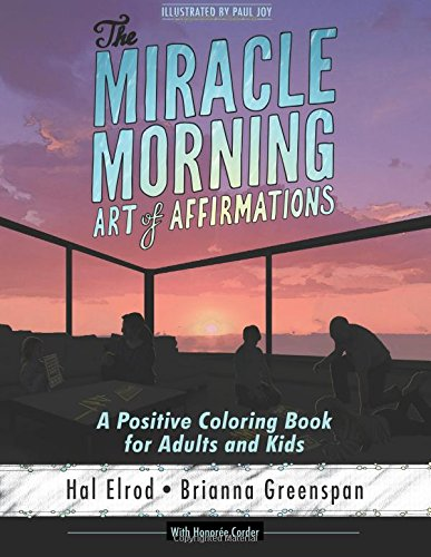 Miracle Morning Art Affirmations Positive product image