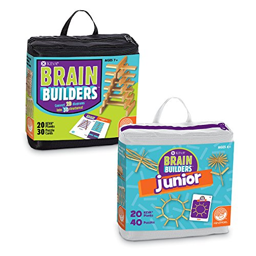 Builder Set Junior (KEVA: Brain Builders set of 2 by MindWare)