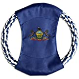 KINGS The State Of PENNSYLVANIA Exclusive Cotton Pet Frisbee Canvas
