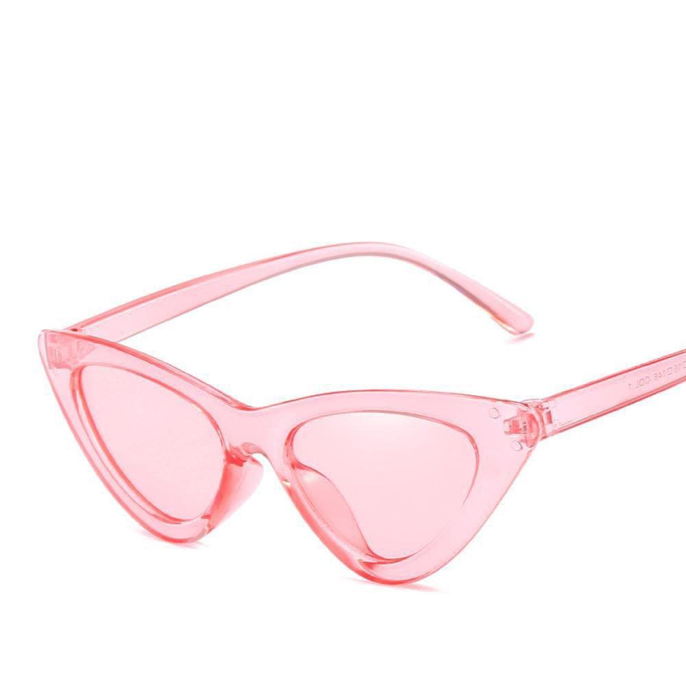 1259c009d8 Axiba Ojo de Gato Gafas de Sol pequeña Caja Gafas de Sol Gafas Triangular  Transparente Europeos y Americanos Gafas Marea Regalos creativos:  Amazon.es: ...