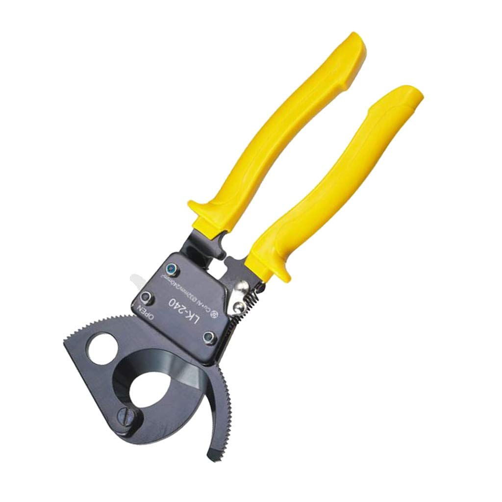 Tubayia herramienta de corte Cortacables con trinquete alicates de alambre cortador de cables