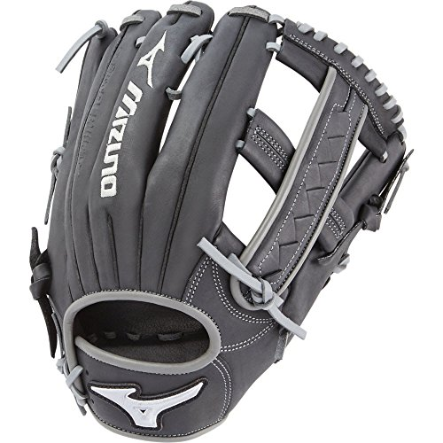 Slow-Pitch GMVP1250SES6 Utility Model Mitts, Black/Smoke ()