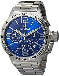 TW Steel Mens CB13 Analog Display Quartz Silver Watch