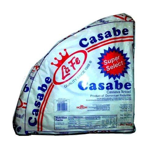 La Fe Casabe Dominicano Super Selected Traditional Cassava Bread From Dominican Republic 7 Oz (Pack of 14)