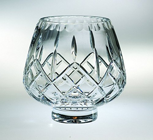 Majestic Gifts High European Quality Cut Crystal Footed Rose Bowl 6