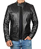 Dodge Black Leather Jacket