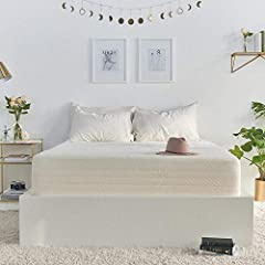 This Brentwood Home Cypress Gel 13 mattress provides a medium feel. The 3.5-inch layer of gel infused memory foam responds to your body's individual shape, weight, and temperature. It adjusts its shape to provide precise support, keeping your...