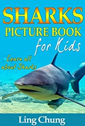 Children's Book About Sharks: A Kids Picture Book About Sharks with Photos and Fun Facts (English Edition)