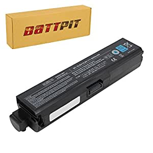 Battpit Bateria de repuesto para portátiles Toshiba Satellite Pro U400-114 (6600 mah)