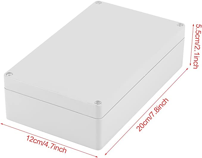 Moligh doll Weisses ABS IP65 Wasserdichtes Gehause Kreuzung Anschlussdose 200 x 155 x 80 mm