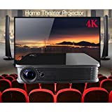 Deeirao Android5.1 DLP Home Theater Projector Mini Portable Build in Wifi 1280x800 Native Resolution Support 4K 2160P 2D Convert To 3D Bluray 3D USB HDMI Bluetooth4.0