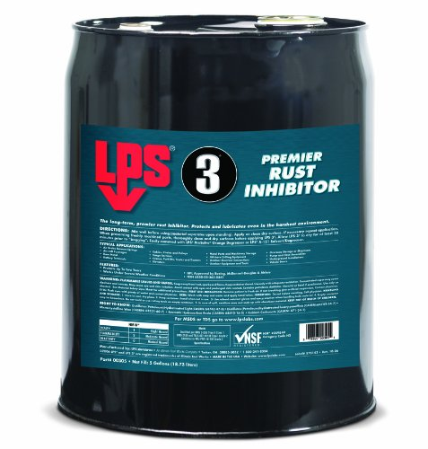 LPS 3 Premier Rust Inhibitor, 5 Gallons by LPS