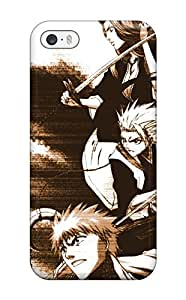 Iphone 5/5s Case Cover - Slim Fit Tpu Protector Shock Absorbent Case (bleach)