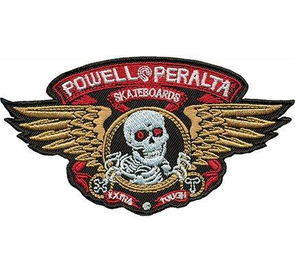 powell-peralta-skateboards-skeleton-freerider-skull-wings-iron-on-patch-badge