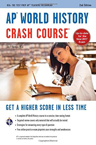 AP® World History Crash Course Book + Online (Advanced Placement (AP) Crash Course) cover