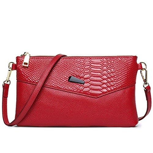 d'embrayage le soirée nouveaux partie à de de mariage sac Red bandoulière Messenger d'enveloppe sacs Sacs main à de club sac de sacs pour tS01Sxn6a