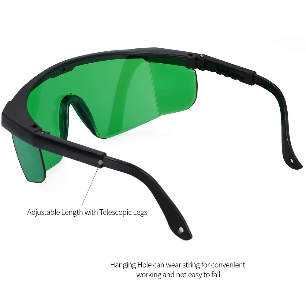 Dabixx Safety Glasses Yellow Protection Goggles Laser Safety Glasses Green Blue Eye Spectacles Protective