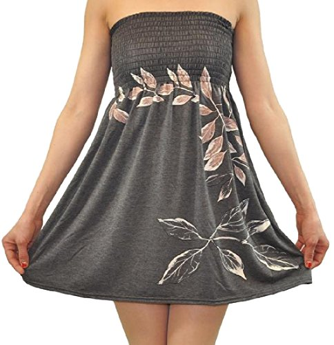 Dress Word Sleeveless Grey Coolred Shirt Shoulder One Women Printing IpqExP0