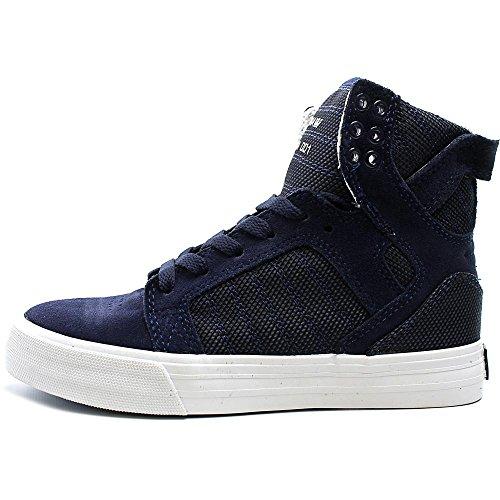 Supra Damen Skytop Sneaker Marine Zweifarbig / Weiß