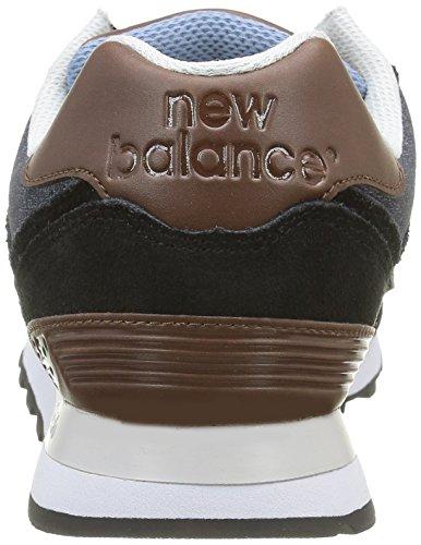 Black Basses Multicolore Brown Baskets New Wl574 White Balance Homme WCwn6Tqxft