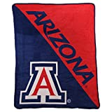 NCAA Collegiate 'Half Tone' Super Soft Plush Throw Blanket 46' x 60' (Arizona Wildcats)