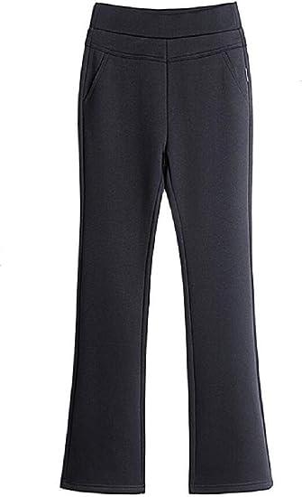BYWX Women Butt Lift Stretch High Waisted Wear to Work Bell-Bottom Flare Pants Pants