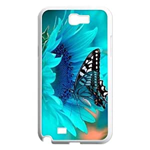 Butterfly Unique Design Cover Case for Samsung Galaxy Note 2 N7100,custom case cover ygtg522929