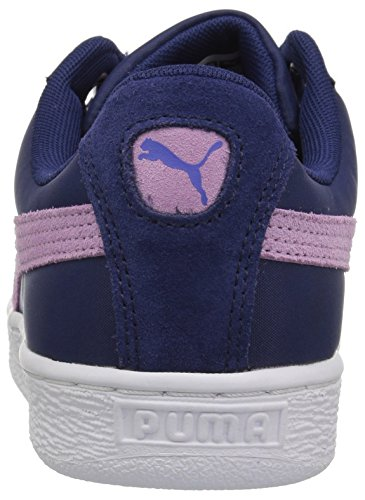 Puma Vrouwen Mand Hart Nylon Wn Sneaker Blauw Diepte-rokerige Druif