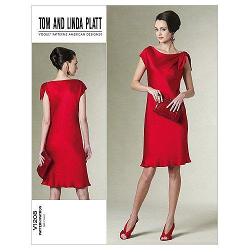 Vogue Pattern V1208 Misses' /Misses' Petite Dress, Size A...