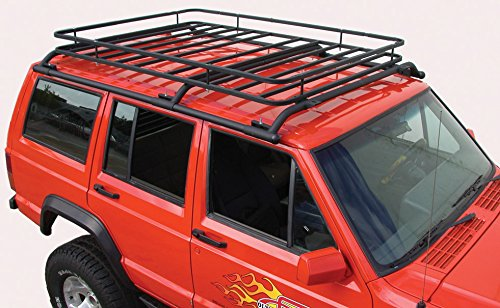 Olympic 4X4 Products 906-154 Texture Black Cherokee Top Rack