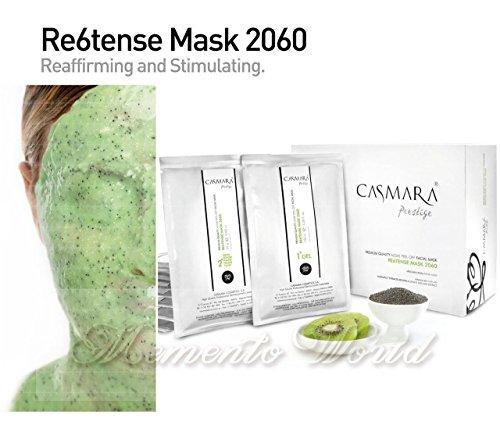 Casmara RE6TENSE Mask 2060 1 Unit Firming Soothing Peel Off Mask Gel (100 ml) + Powder (25 gr)