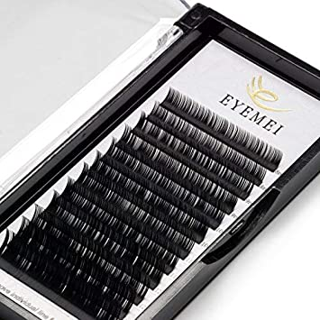 Eyelash Extensions 0 20mm C Curl 9-15mm Mixed Faux Eyelash Extension  Supplies Individual