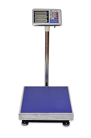 Bascula Industrial De Plataforma 300Kg Balanza Plataforma de 40x50Cm Peso …