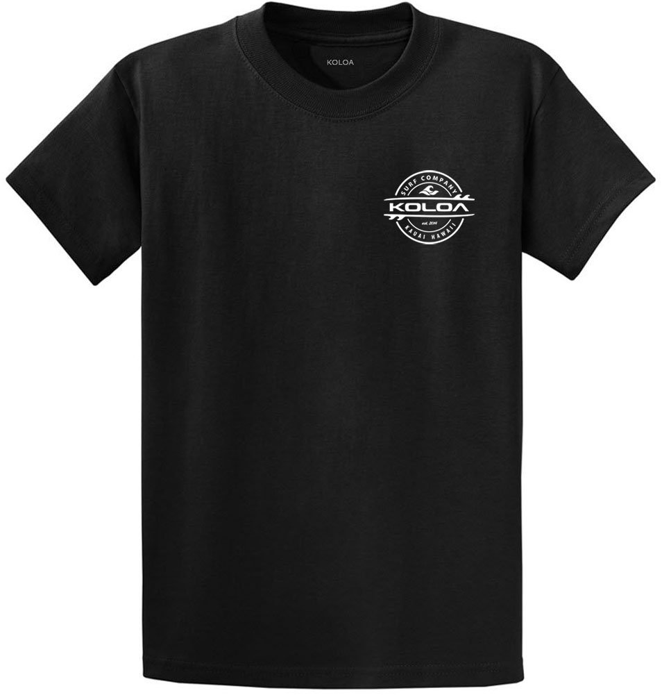 Joe's USA SHIRT メンズ B07B9Q7YT3 Regular 4X-Large (54-57)|Black With White Thruster Surfboards Design Black With White Thruster Surfboards Design Regular 4X-Large (54-57)