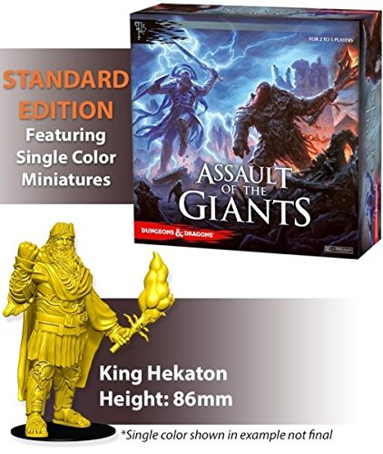 WizKids Dungeons & Dragons Assault of The Giants Juego de mesa Edición estándar