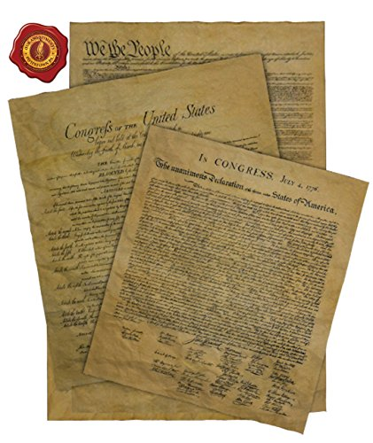 Constitution Framed (Documents of Freedom Bundle. Declaration of Independence, United States Constitution and the Bill of Rights.)