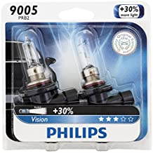 Philips 9005PRB2 Vision High-Beam Headlight Bulb, (Pack of 2)